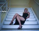 Aya Brea - Stairs