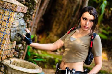 Lara Croft - Lion's Silence by Karim-sama