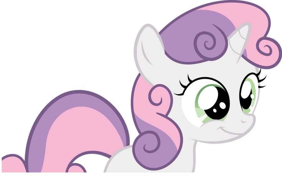 Sweetie Belle Vector by TryHardBrony