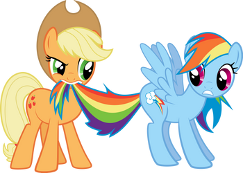 Hold Your Horses by TryHardBrony