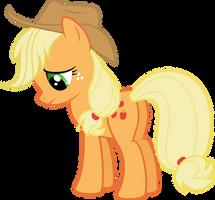 Sad Applejack by TryHardBrony