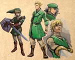 1950s Link from Zelda