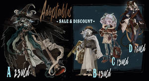 DISCOUNED  ADOPTABLES | CLOSED