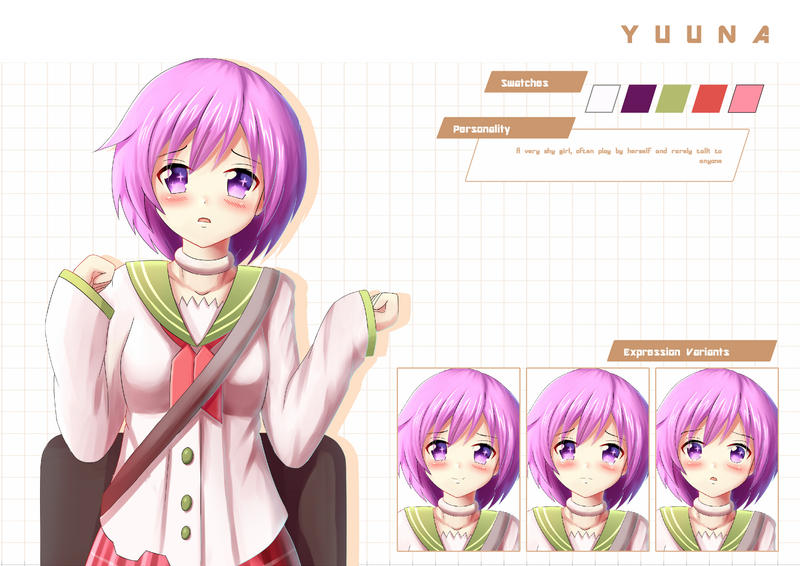 Artist For Hire AnimeStyle Illustration Sprite VN Lemma - Anime hairstyle and personality