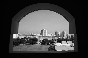 Framed Singapore by josepaolo