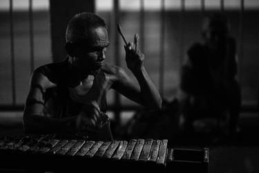 The Blind Musician by josepaolo