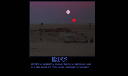 INFP Motivational Poster by ConnMan8D