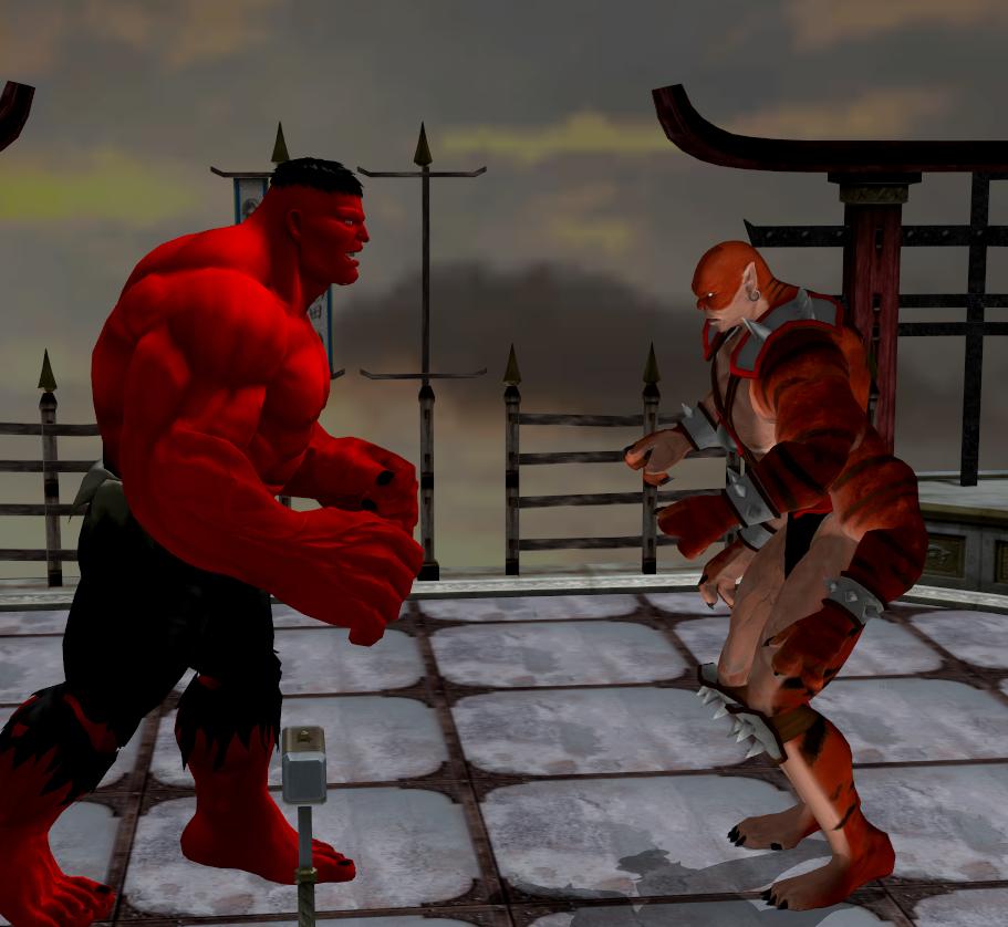 Red Hulk Fan Art