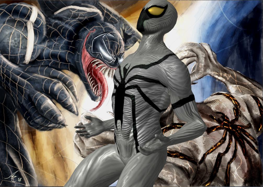 Anti Venom Marvel Wallpaper