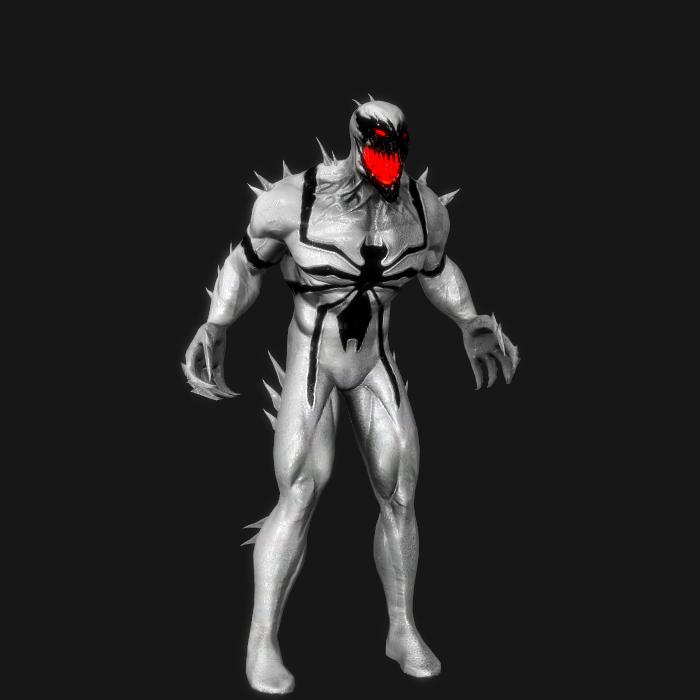 ... Marvel Venom Wallpaper: Marvel Character Portrait Anti-Venom 2 By R0ck4x3 On
