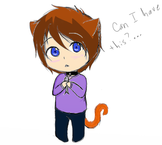 Chibi neko boy~ by chocoholic321 on DeviantArt