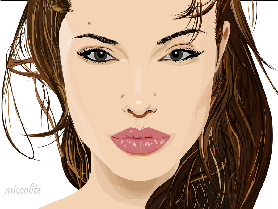 angelina jolie face profile. Face. by ~eveahh