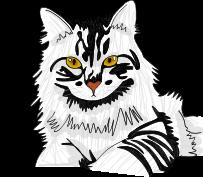 Cat Trial Drawing by allyssonlovesowlcity