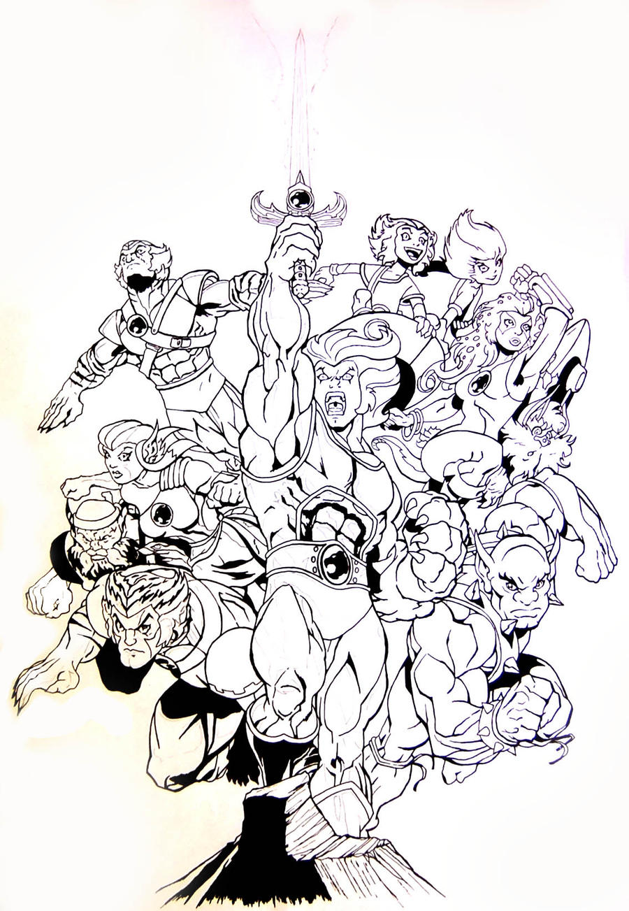 thundercats by lass2010 on deviantart