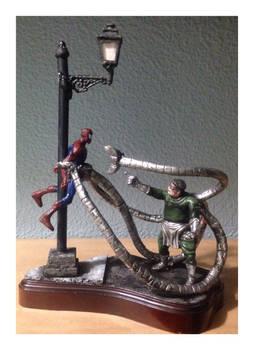 Spiderman vs octopus 4