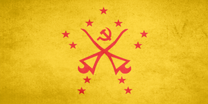 Flag of Communist Malaysia