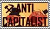 ANTICAPITALIST STAMP by ComradeMaxwell