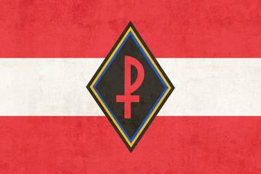 Ostmaerkische Sturmscharen Flag by ComradeMaxwell