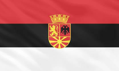 Flag of the Republic of Nova Makedonija by ComradeMaxwell