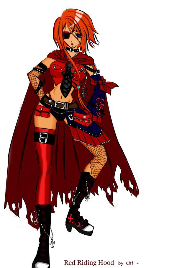 Red Riding Hood by IvoryEbony