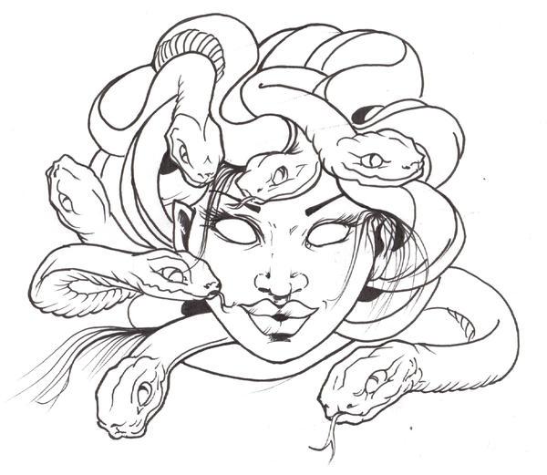 Capobianco Style Medusa Black by WikkedOne on DeviantArt