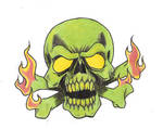 Custom Skull piece..