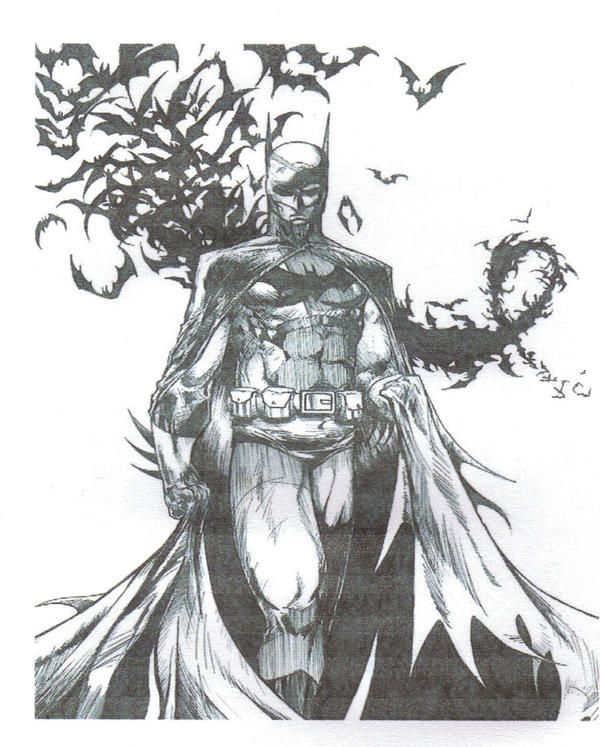 Dark knight Comic Book Cover.. - shoulder tattoo