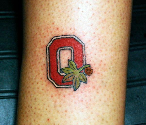 OHIO State Buckeye Tattoo...