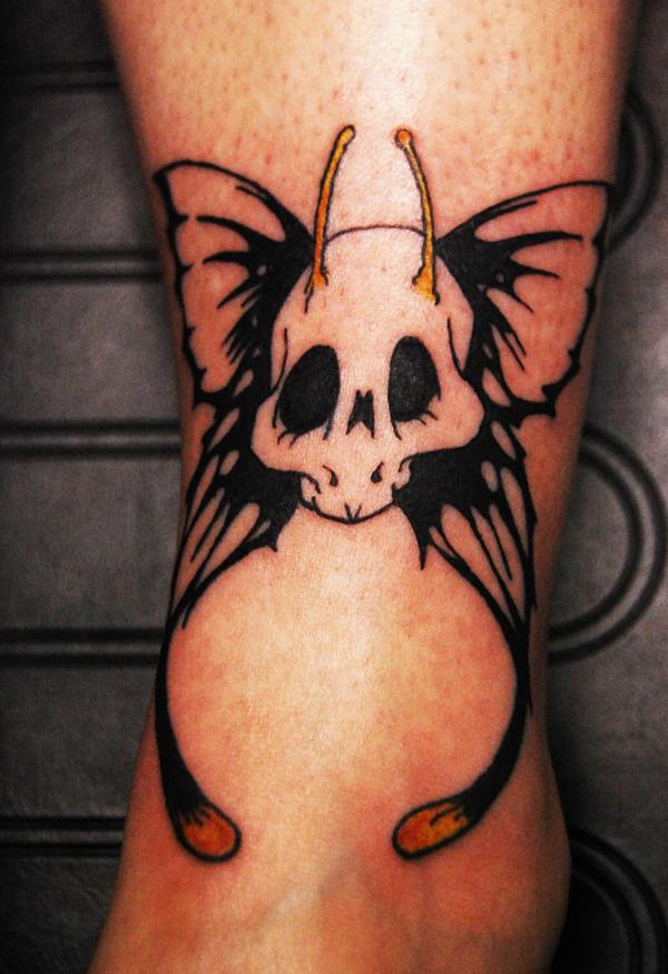 Best tattoo design ideas tattoo designs by george hanson for Skull fairy tattoos