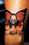 Sailor Jim Skull Butterfly 2