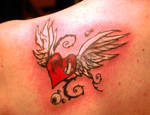 Cover Up Heart with wings