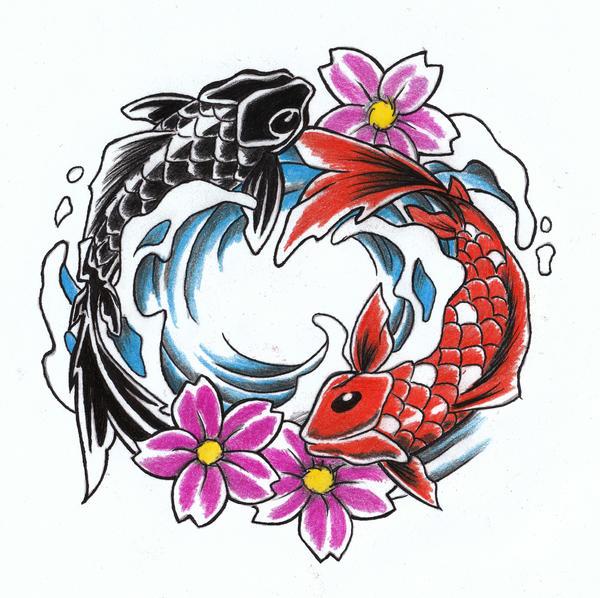 Koi Ying An Yang By WikkedOne On DeviantArt