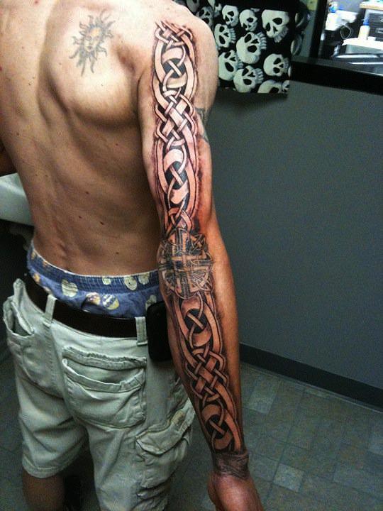 Norse Bear Tattoo