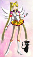 Usagi Tsukino/Sailor Moon (Sailor Senshi Maker)