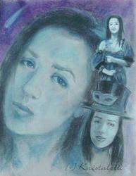 An Identity Self Portrait by Kristaletti
