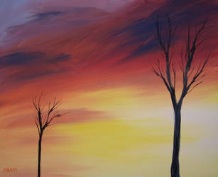 Two Trees by ajburr