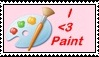 I love Paint Stamp by mlp44