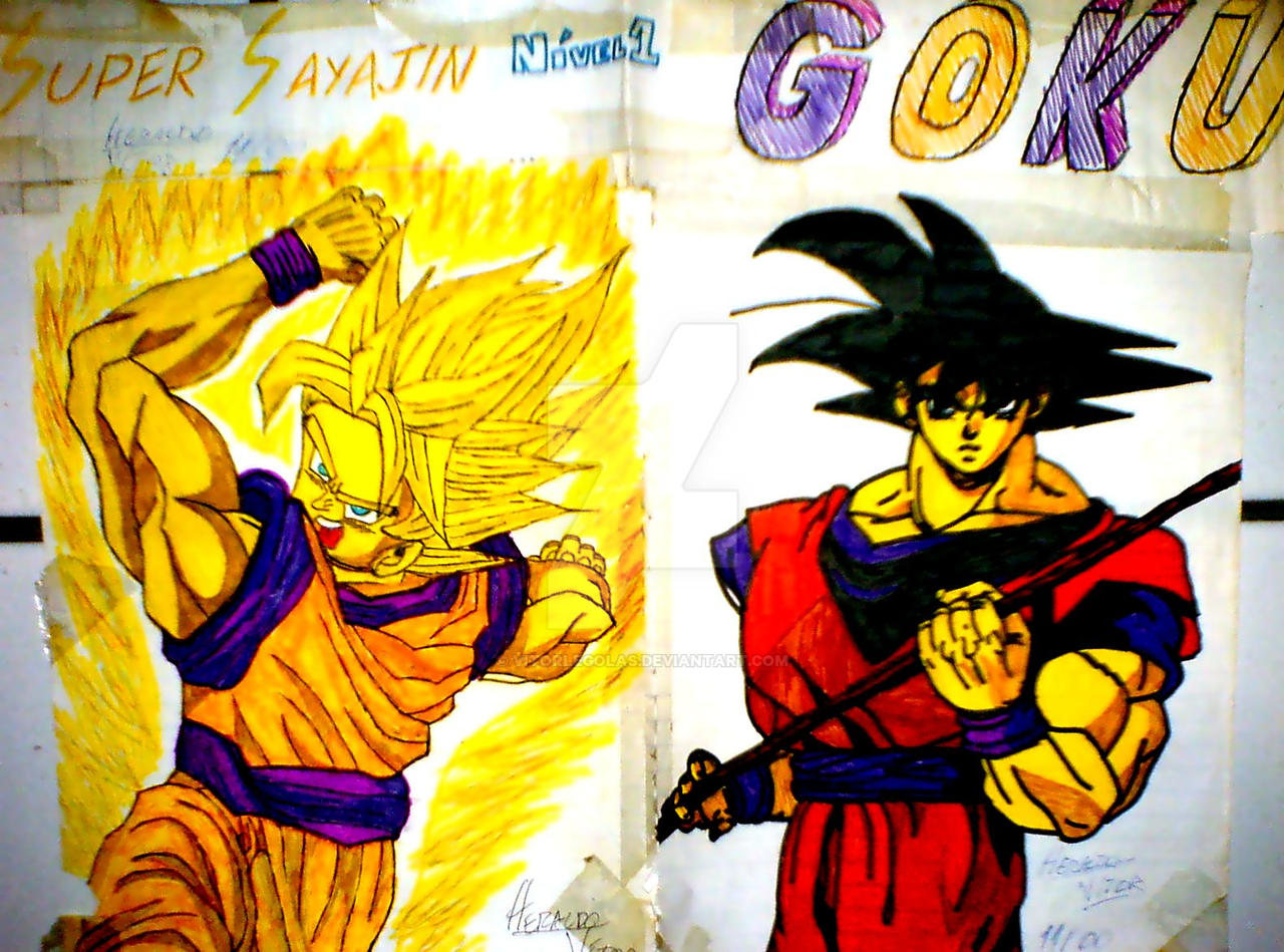 Goku x2 by vitorlegolas