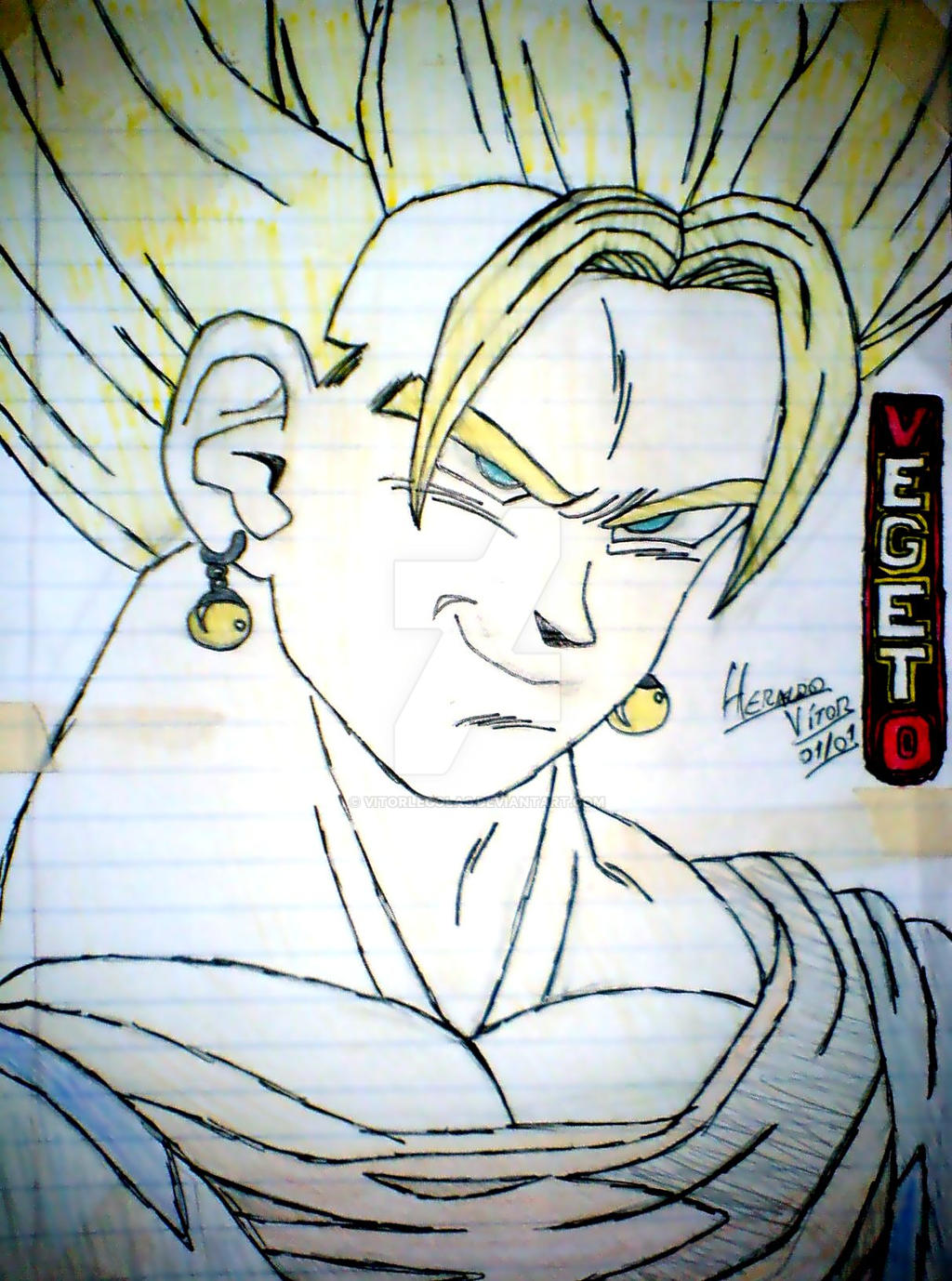 Vegetto by vitorlegolas