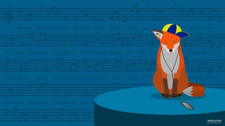 Music Fox (Wallpaper 4096x2302)
