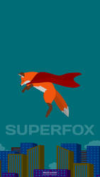 SuperFox (Mobile Wallpaper, 2302x4096)