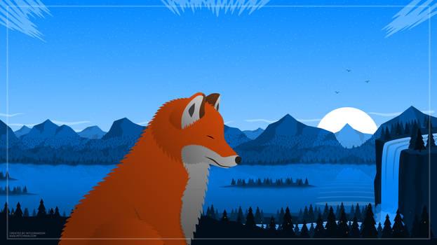 Breathe V2 Fox Version (Wallpaper 4096x2302)
