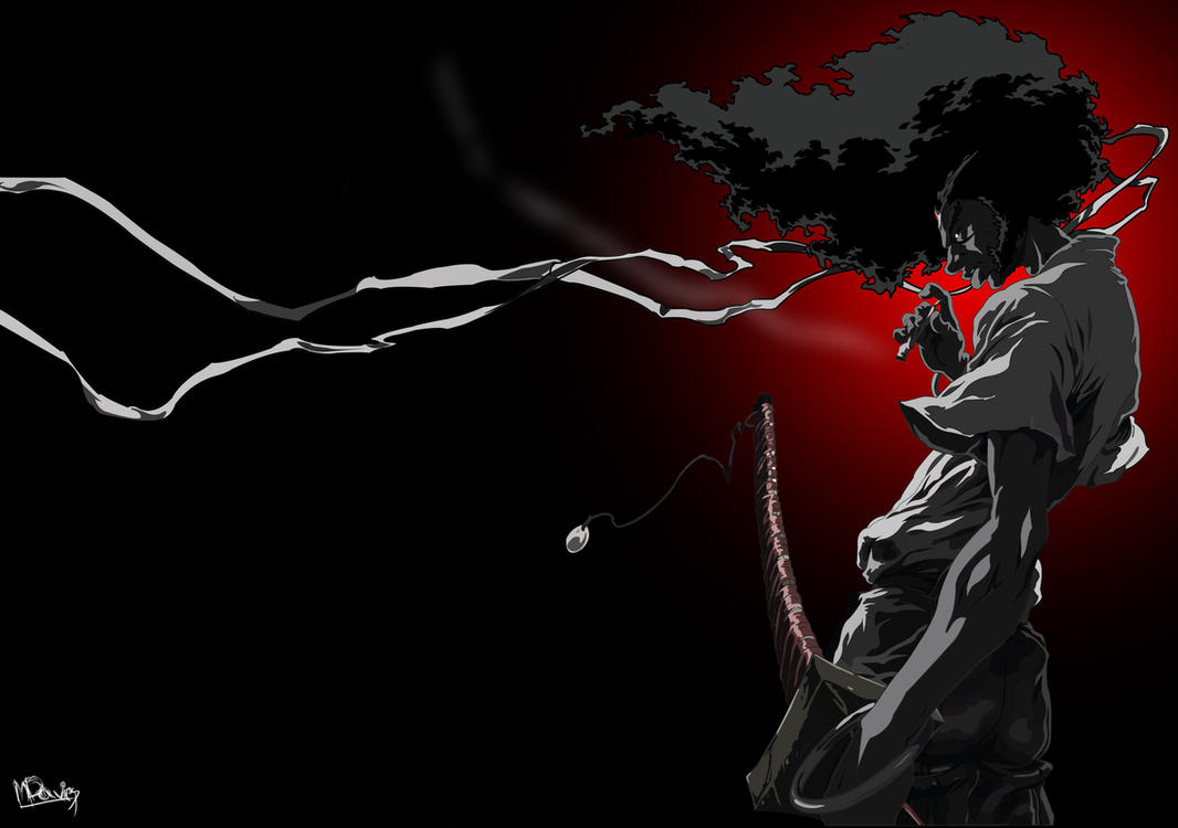 Afro Samurai by MrSandman12