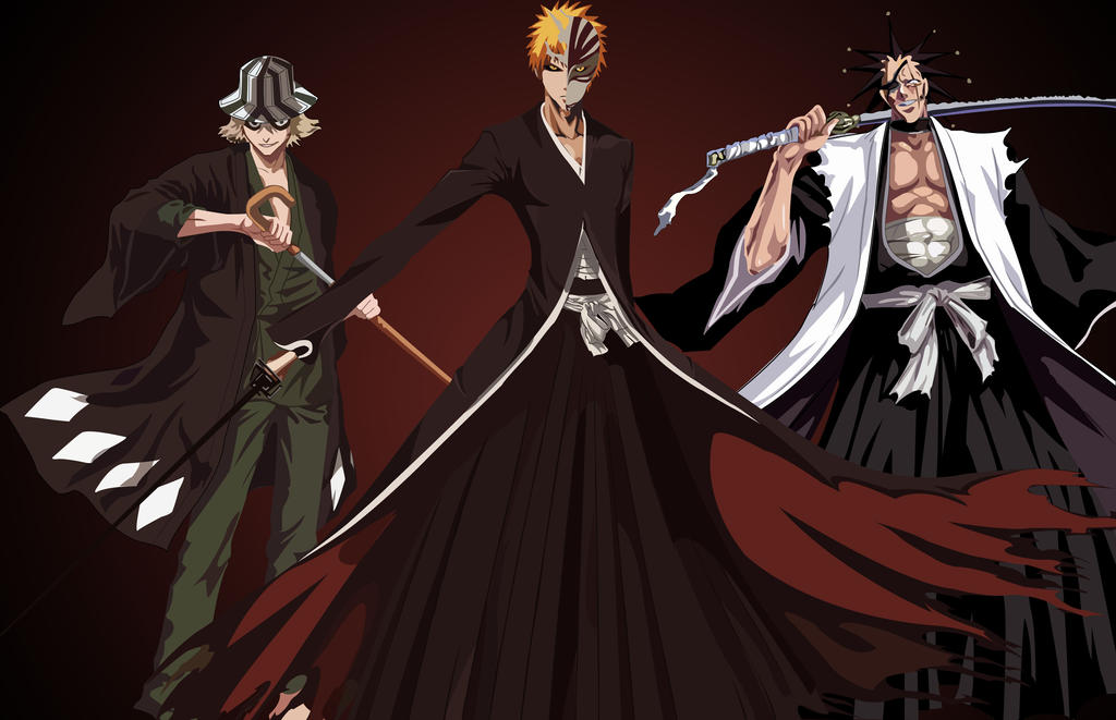 Anime Characters From Bleach : Bleach characters by mrsandman on deviantart