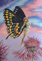 Lady Lepidoptera by ed-coutts
