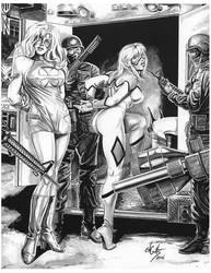 Femforce Arrested