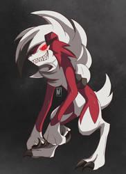 Lycanroc Midnight forme Pokemon