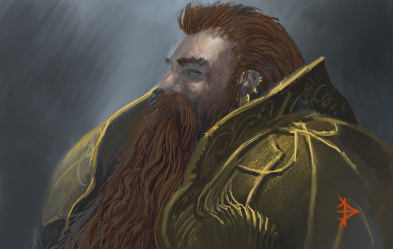 Speed Sketch Dwarf by jbconcept