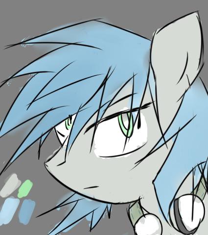 A pony oc art by jojafnot
