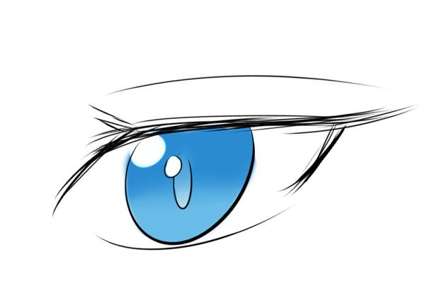 some random eye practice by jojafnot